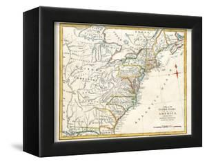 Original Map Of North America by Tektite