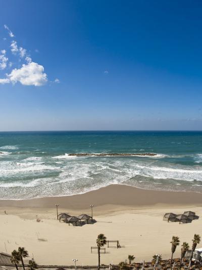 Tel Aviv Beach, Israel, Middle East-Michael DeFreitas-Photographic Print