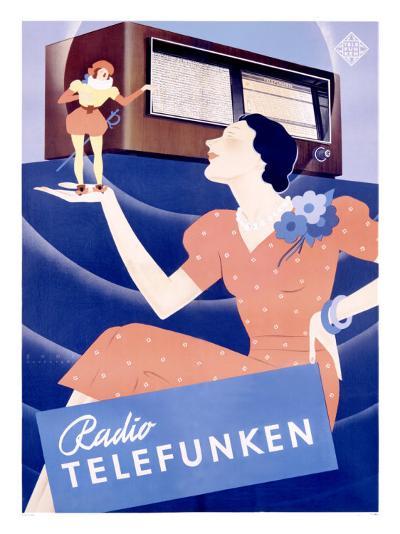 Telefunken Radio, c.1938--Giclee Print