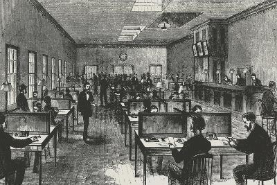 Telegraph Hall, New York, 1860, United States, 19th Century--Giclee Print