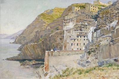 View of Riomaggiore Countryside
