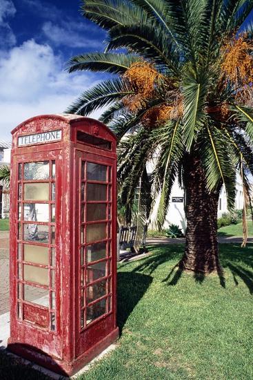 Telephone Booth, Bermuda-George Oze-Photographic Print