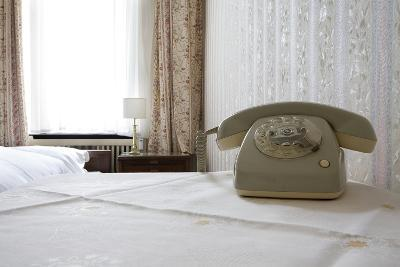 Telephone in a Room, Berlin, 2009--Photographic Print