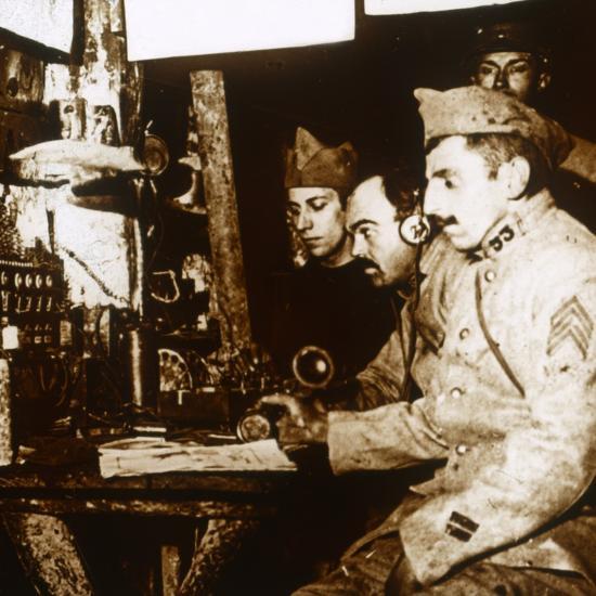 Telephonist, c1914-c1918-Unknown-Photographic Print
