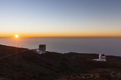 Telescope Nazionale Galileo (Tng) and Gran Telescopio Canarias (Gtc-Gerhard Wild-Photographic Print