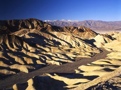 Telescope Peak in Mojave Desert, Death Valley National Park, Zabriskie Point, California, USA-Adam Jones-Photographic Print