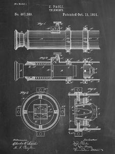 Telescope Vintage Patent 1891