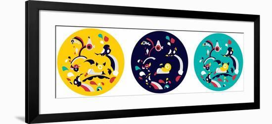 Tell A Story Annimo--Framed Art Print