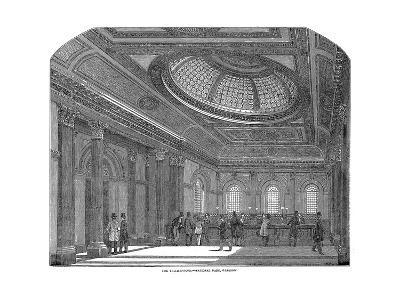 Telling Room, National Bank of Scotland, Glasgow, C1860--Giclee Print