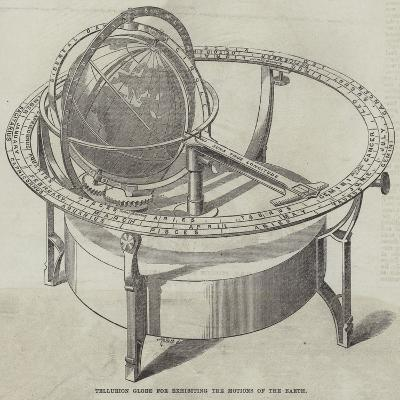 Tellurion Globe for Exhibiting the Motions of the Earth--Giclee Print