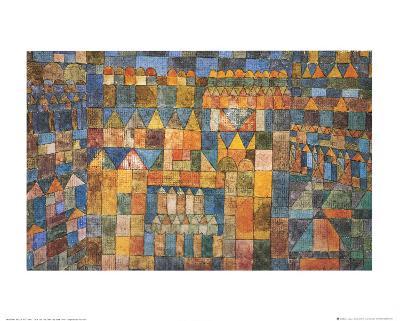 Tempelviertel von Pert, c.1928-Paul Klee-Art Print