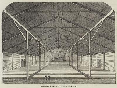 Temperance Pavilion, Erected at Dunse--Giclee Print