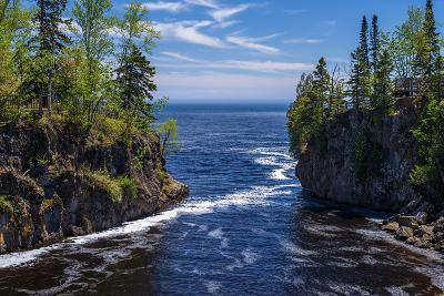 Temperance River, Lake Superior-Steven Gaertner-Photographic Print
