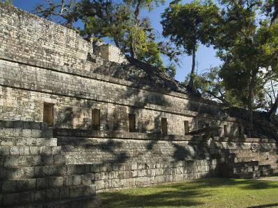 Temple 11, West Court, Copan Archaeological Park, Copan, UNESCO World Heritage Site, Honduras--Photographic Print