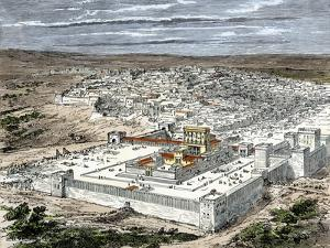 Temple and the City of Jerusalem When Part of the Roman Empire, About the Time of Jesus