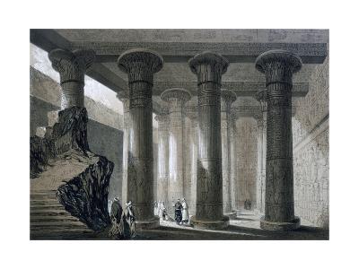Temple at Esneh, Egypt, 19th Century-JH Allan-Giclee Print