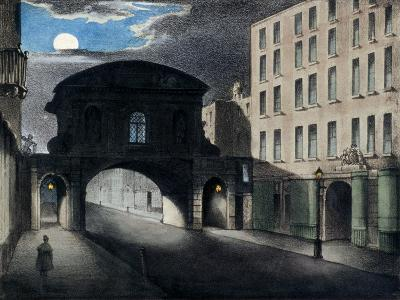 Temple Bar, London, 1837--Giclee Print