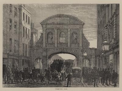 Temple Bar-Edward Henry Fahey-Giclee Print