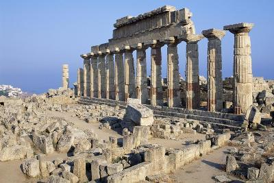 Temple C, Selinunte, Sicily, Italy--Giclee Print