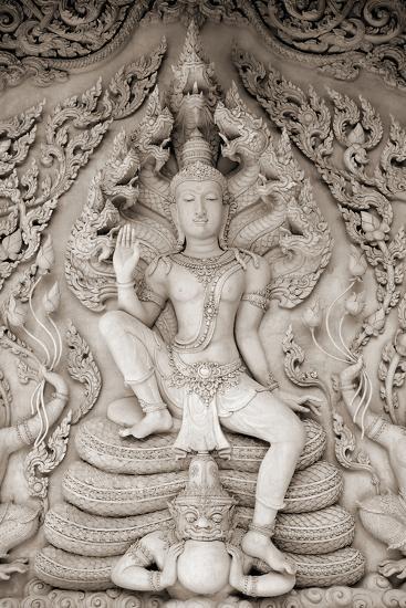 Temple Calm-Bill Philip-Giclee Print
