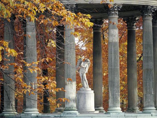 Temple De L'Amour, Petit Trianon, Chateau of Versailles, Unesco World Heritage Site-Bruno Barbier-Photographic Print