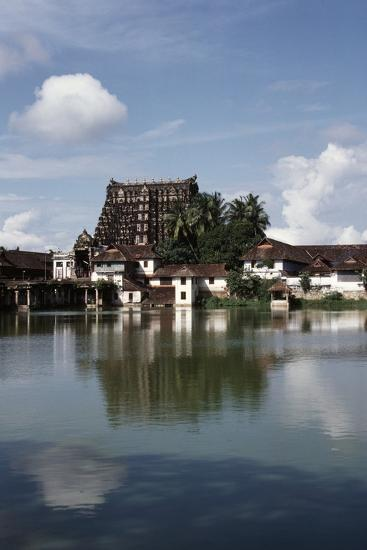 Temple Dedicated to God Vishnu--Giclee Print