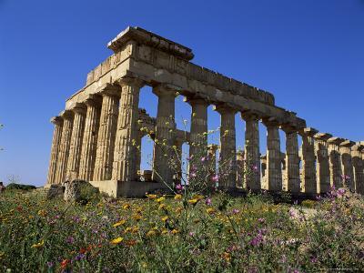 Temple E, Dating from 5th Century Bc, Selinunte, Near Castelventrano, Sicily, Italy-Richard Ashworth-Photographic Print