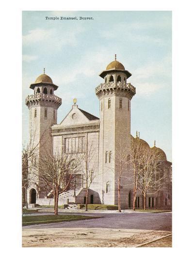 Temple Emanuel, Denver, Colorado--Art Print