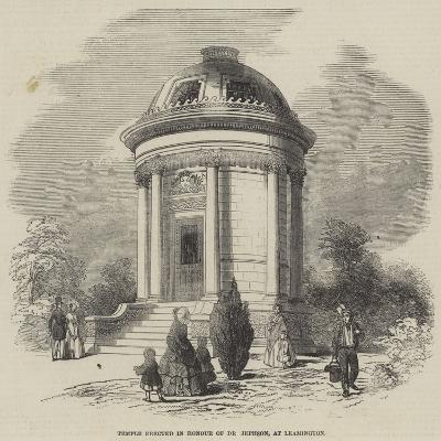 Temple Erected in Honour of Dr Jephson, at Leamington--Giclee Print
