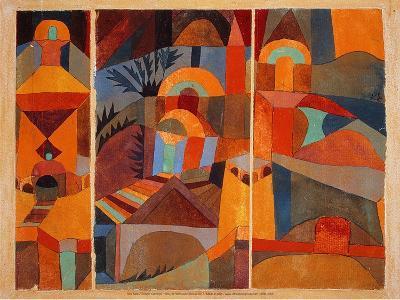 Temple Gardens, 1920-Paul Klee-Art Print