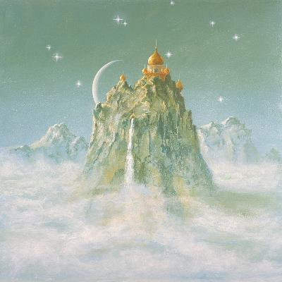 Temple in the Mountain-Simon Cook-Giclee Print