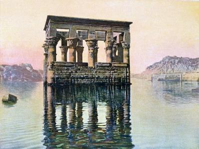 Temple Kiosk of Trajan, Philae, Egypt, 20th Century--Giclee Print