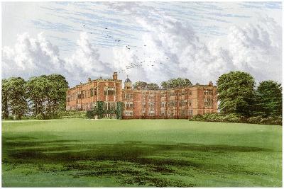 Temple Newsam, Home of the Meynell-Ingram Family, C1880-Benjamin Fawcett-Giclee Print