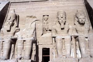 Temple of Abu Simbel, Egypt, 13th Century Bc