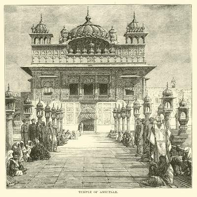 Temple of Amritsar--Giclee Print