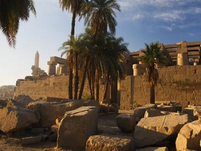 Temple of Amun at Karnak, Thebes, UNESCO World Heritage Site, Egypt, North Africa, Africa-Schlenker Jochen-Photographic Print