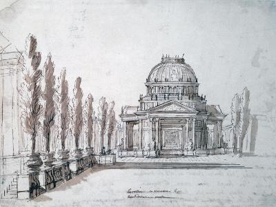 Temple of Apollo, for the Opera Achille and Polyxene, C1687-Jean-Baptiste Lully-Giclee Print