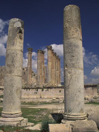 Temple of Artemis in Jaresh, Jordan-Richard Nowitz-Photographic Print