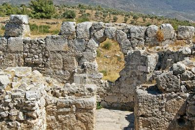 Temple of Artemis, View Through the Window, Xanthos, Turkey--Photographic Print