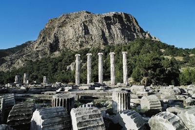 Temple of Athena Polias, Priene, Turkey BC--Giclee Print