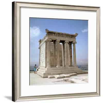 Temple of Athene Nike on the Acropolis, 5th Century Bc-CM Dixon-Framed Photographic Print