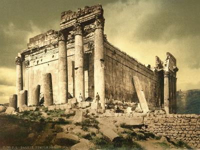 Temple of Bacchus, Baalbek, C.1880-1900--Photographic Print