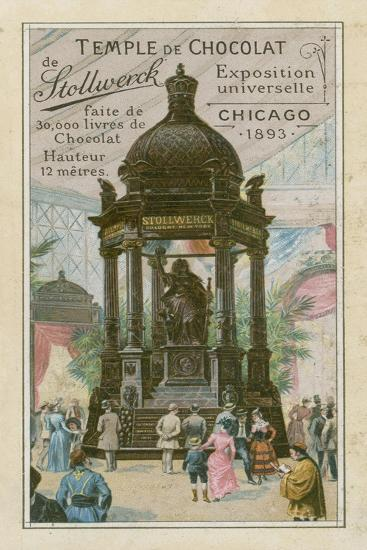 Temple of Chocolate by Stollwerck--Giclee Print