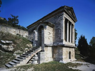 Temple of Clitunno (Unesco World Heritage List--Photographic Print