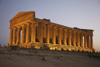 Temple of Concordia in the Valley of the Temples; Agrigento, Sicily, Italy-Design Pics Inc-Photographic Print
