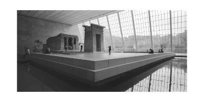 Temple Of Dendor Panorama 2 - Metropolitan Museum Of Art-Henri Silberman-Photographic Print