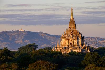 Temple of Gawdawpalin, Dated 12th Century, Bagan (Pagan), Myanmar (Burma), Asia-Nathalie Cuvelier-Photographic Print