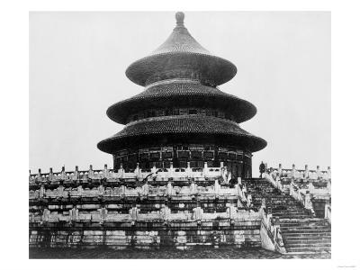 Temple of Heaven in Peking China Photograph - Peking, China-Lantern Press-Art Print