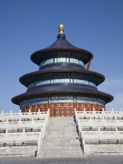 Temple of Heaven, UNESCO World Heritage Site, Beijing, China-Angelo Cavalli-Photographic Print