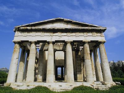 Temple of Hephaestus in Agora-Tibor Bogn?r-Photographic Print